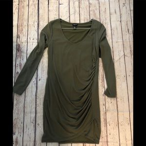 Olive Dress from Free Press